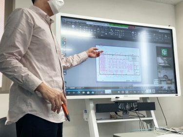AutoCAD出張オンライン新人研修最終日
